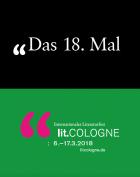 Programmheft lit.COLOGNE 2018