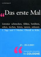 Programmheft 2001