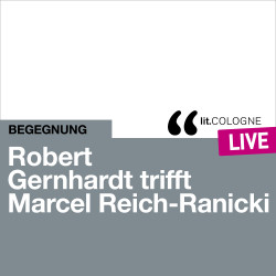 Photo: Robert Gernhardt trifft Marcel Reich-Ranicki