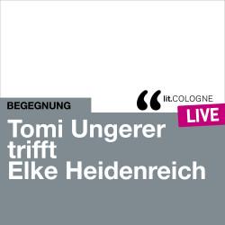 Photo: Tomi Ungerer trifft Elke Heidenreich