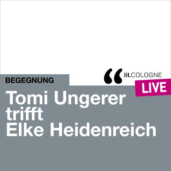 Foto: Tomi Ungerer trifft Elke Heidenreich