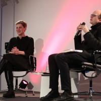 lit.COLOGNE 2018: Felicitas Hoppe im Gespräch mit Andreas Platthaus. © Ast/Jürgens