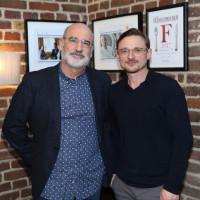 lit.COLOGNE 2018: Fernando Aramburu (l.) und Florian Lukas. © Ast/Jürgens