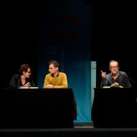 lit.COLOGNE 2018: Carine Debrabandère, Antonin Varenne (m.) und Peter Lohmeyer. © Ast/Jürgens