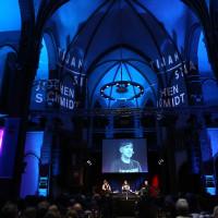lit.COLOGNE 2019: Marie-Christine Knop, Tijan Sila und Jochen Schmidt © Ast/Juergens