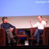 lit.COLOGNE 2019: Ranga Yogeshwar und Marc Elsberg © Ast/Juergens