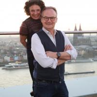 lit.COLOGNE 2019: Adriana Altaras und Frank Plasberg © Ast/Juergens