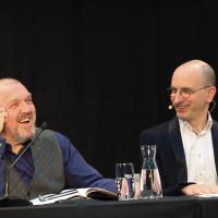 lit.COLOGNE 2019: Dietmar Bär und Jakob Hein © Ast/Juergens