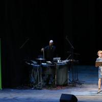 lit.COLOGNE 2019: Corinna Harfouch, Hannes Gwisdek © Ast/Juergens
