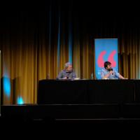 lit.COLOGNE 2019: Manni Breuckmann, Ben Redelings und Uli Borowka © Ast/Juergens