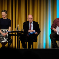 lit.COLOGNE 2019: Anke Engelke, Gregor Gysi, Gerd Köster © Ast/Juergens