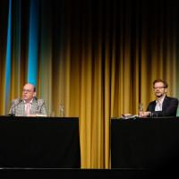 lit.COLOGNE 2019: Denis Scheck und Florian Illies © Ast/Juergens