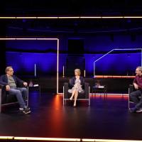 "lit.COLOGNE 2021 Digital: 07.06. ""Premierenlesung: Unter Tintenfischern"": v.l. Wolfgang Schorlau, Gisela Steinhauer, Claudio Caiolo/ ©lit.COLOGNE/Ast/Juergens"