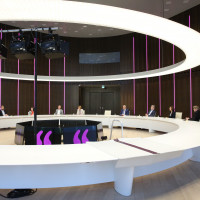 lit.COLOGNE 2021 Digital: Pressekonferenz in der Hauptverwaltung der RheinEnergie AG ©lit.COLOGNE/Ast