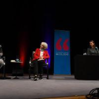 lit.COLOGNE Spezial 2017: Margarete von Schwarzkopf, Donna Leon und Annett Renneberg ©Ast/Juergens