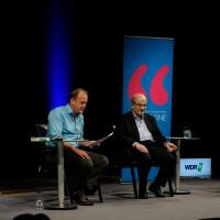 lit.COLOGNE Spezial 2017: Bernhard Robben, Salman Rushdie und Sylvester Groth ©Ast/Juergens