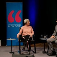 lit.COLOGNE Spezial 2018: Randi Crott und Christian Berkel © Ast/Juergens