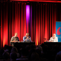 lit.COLOGNE Spezial 2018: Bernhard Robben, Jonas Jonasson und Jan-Gregor Kremp © Ast/Juergens