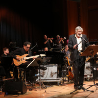 lit.COLOGNE Spezial 2018: Christian Brückner mit der WDR Big Band © Ast/Juergens