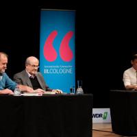 lit.COLOGNE Spezial 2019: Bernhard Robben, Salman Rushdie und Sylvester Groth ©Ast/Juergens