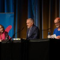 lit.COLOGNE Spezial 2019: Antje Deistler, Jussi Adler-Olsen, Peter Lohmeyer ©Ast/Juergens